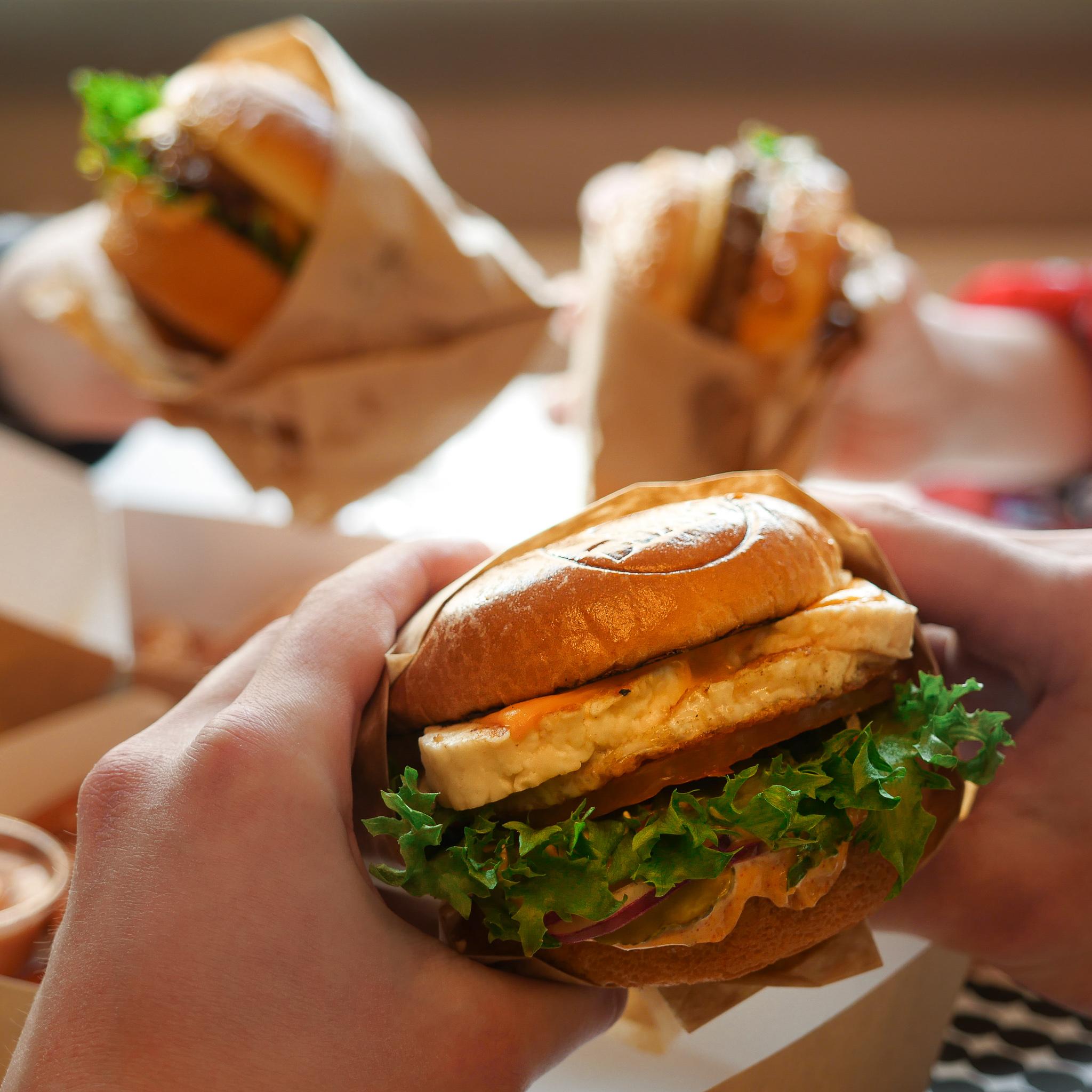 halloum burger